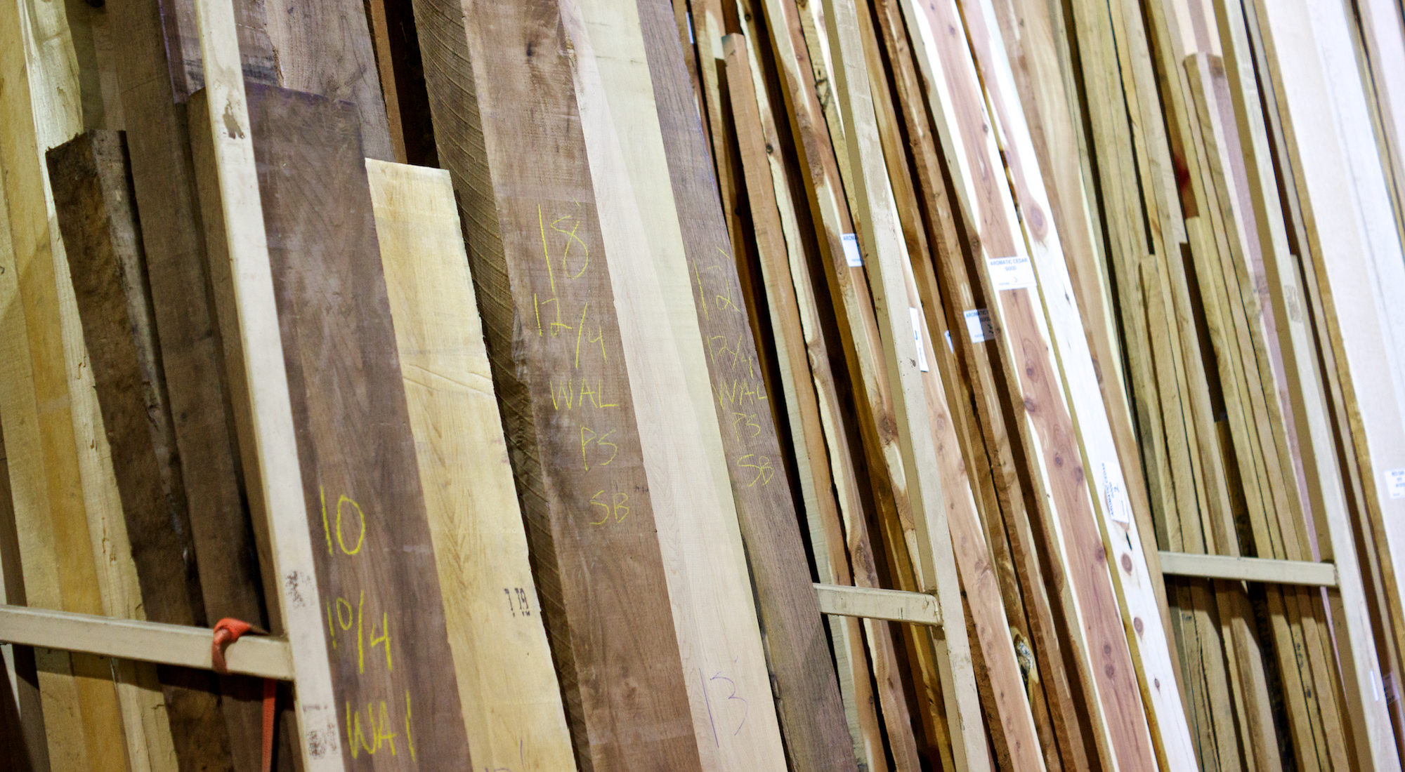 Frank Miller Lumber Retail Store stock