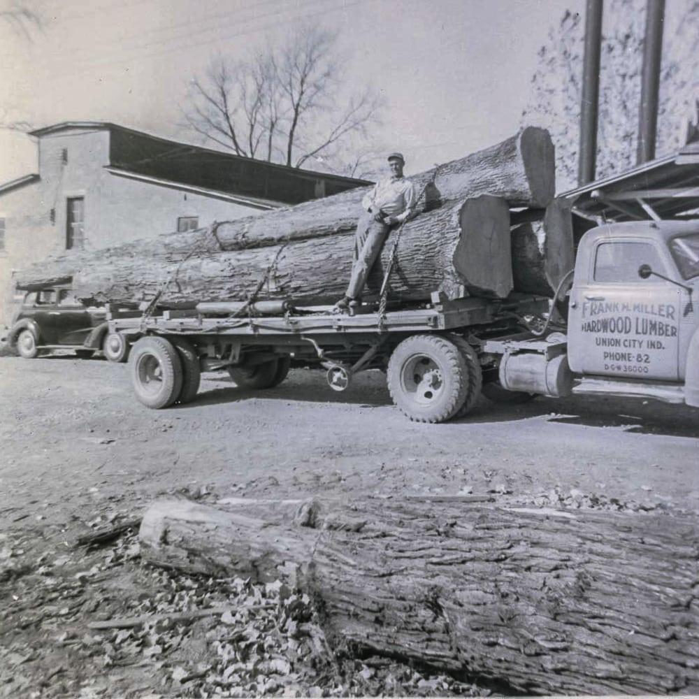 Frank Miller Lumber Quartersawn Hardwoods