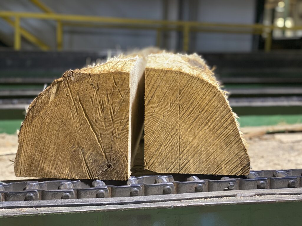 Quarter Log